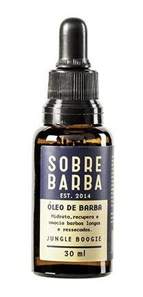 Óleo De Barba Jungle Boogie Sobrebarba 30ml
