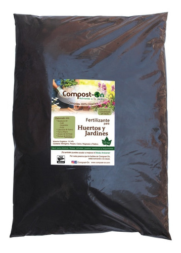 30 Kgs Composta Orgánica Compost-on