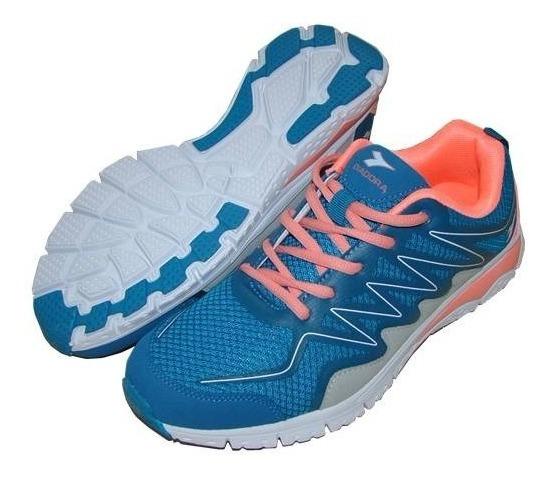 Zapatillas Diadora Swell Running Damas- Green Sport