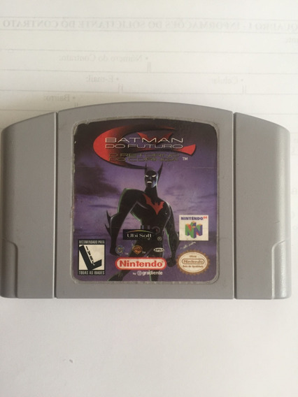Batman Do Futuro Nintendo 64