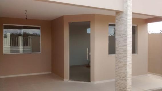 Casa 3/4 Com Suite100%laje,toda No Porcelanato,no Bairro Sim