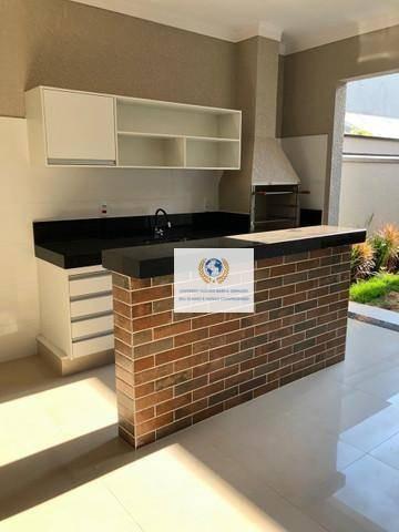 Casa Com 3 Dormitórios À Venda, 170 M² Por R$ 990.000,00 - Reserva Real - Paulínia/sp - Ca1256