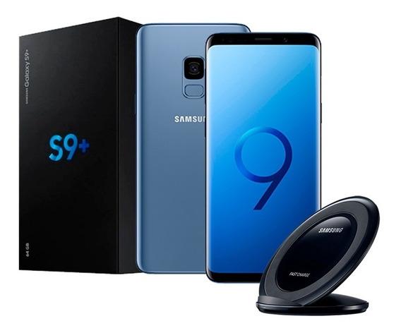 Samsung Galaxy S9+ Plus 64gb + Wireless Re Acondicionado