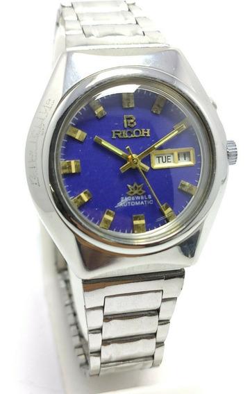 Relógio Automático Ricoh, Calendário, Vintage