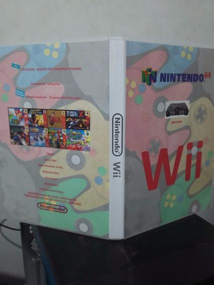 Sdcard P/ Nintendo Wii-jogue Nintendo-64 No Wii