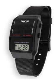 Reloj Parlante Dice La Hora Con Voz Y Alarma