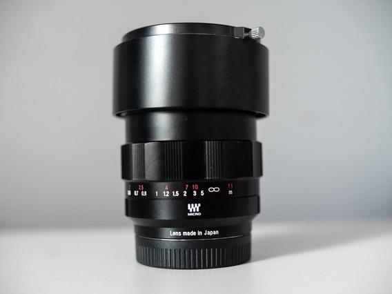 Lente Voigtlander Nokton 42.5mm F0.95 Gh5, Gh4, Bmpcc 4k, G7