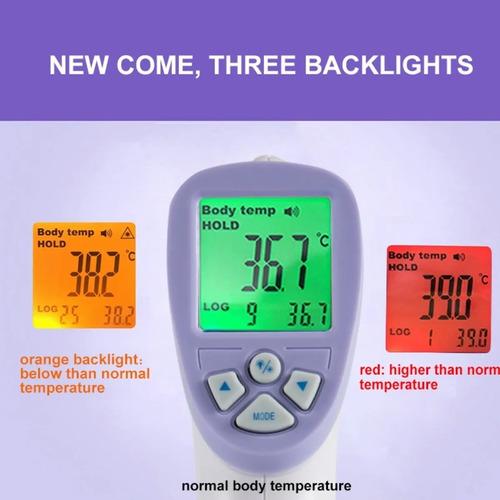 Imagem 1 de 4 de Termômetro Digital Infravermelho S/ Contato