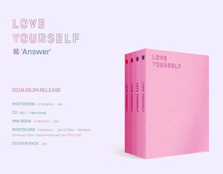 Album Bts Love Yourself Answer Kpop Coreano