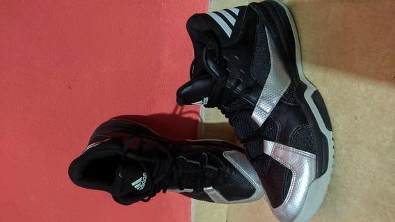 Zapatillas adidas Adiprene Basquet N° 43 Negras Casi Sin Uso