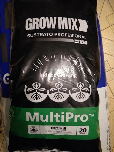 Growmix Sustrato Multipro 20 Lts Ideal Indoor Grow Valhalla
