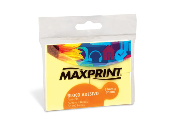 Bloco Adesivo Maxprint