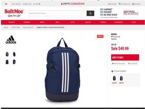 3a6b5b9b7 Mochilas Adidas - Ropa, Zapatos y Accesorios en Mercado Libre Venezuela