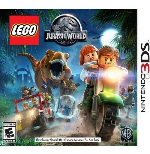 3ds Lego Jurassic World Novo Lacrado