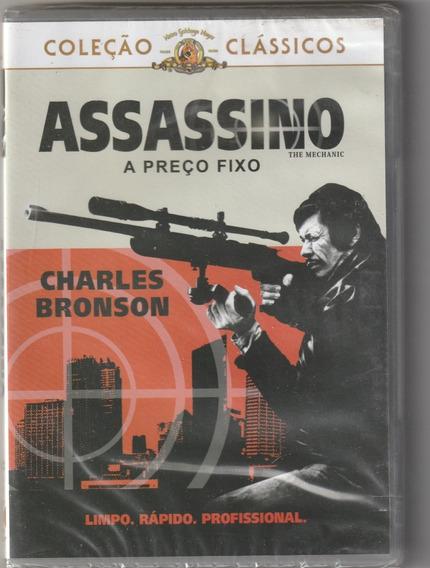 Dvd Assassino A Preço Fixo Charles Bronson Dublado E Lacrado
