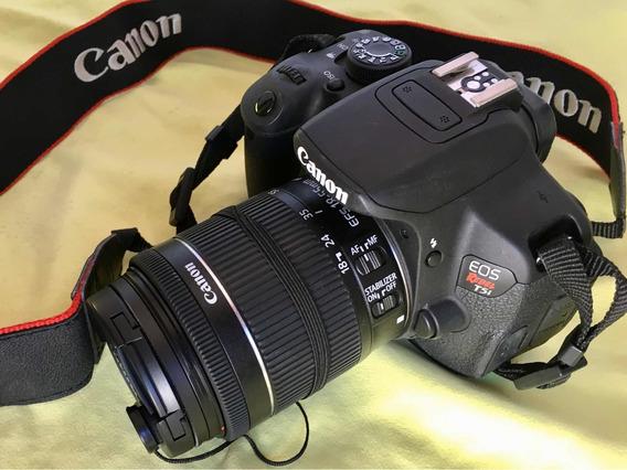 Canon Eos T5i Kit Rabel + Mochila E Lente Extra 55-250m