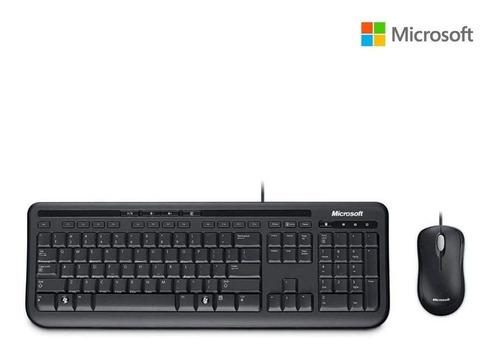 Imagem 1 de 4 de Kit Teclado E Mouse Usb 600 Microsoft - Apb-0005