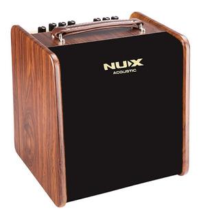 Nux Stageman Amplificador Guitarra Acustica Clasica 50w 2ch
