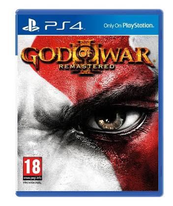 God Of War Iii - Ps4 - Midia Física - Lacrado
