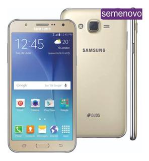 Galaxy J7 Samsung Duos 16gb Metal Dourado Vitrine Promoção