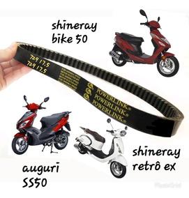 Correia Dentada Shineray Bike ,retro Ex,auguri Ss50 729 17.5