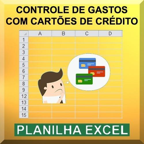 Planilha Excel De Controle De Compras Com Cartão De Crédito