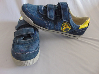 zapatos geox con luces jean
