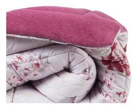 Cobertor Edredon Grande Muito Macio Cores Variadas