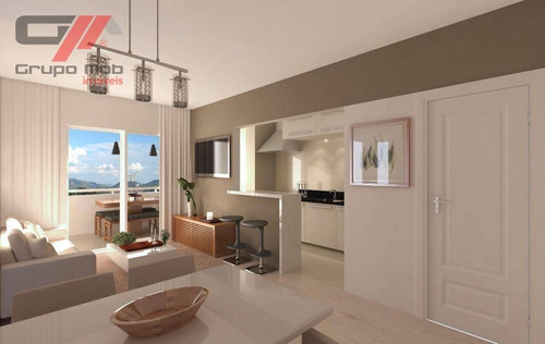 Imagem 1 de 14 de Apartamento Com 2 Dormitórios À Venda, 64 M² Por R$ 250.000 - Vila São José - Taubaté/sp - Ap0143