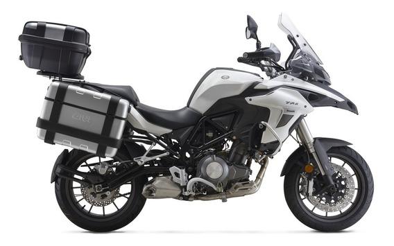 Motocicleta Benelli Trk 502 Blanco 12 Meses Sin Intereses