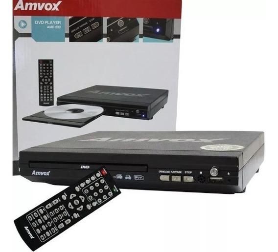 Aparelho Dvd Player Amvox 2.0 Usb Mp3 Cd Amvox Bivolt
