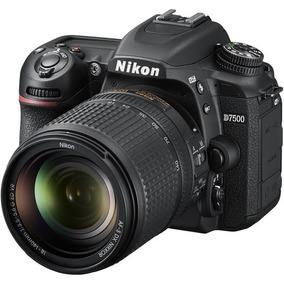 Camera Dlsr Nikon D7500 + Lentes E Acessórios