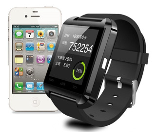 Relogio Bluetooth Smartwatch U8 Compativel iPhone E Android