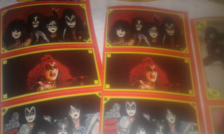 Lote Dos Planchas Stickers Revista Esta Es Su Vida Kiss
