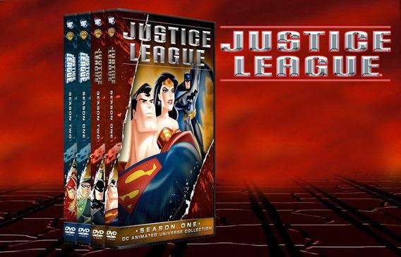 Dvd Liga Da Justiça A Série Animada+filmes Animados Dublado