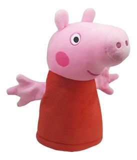 Peppa Pig Muñeco De Peluche Títere George Peppa Original