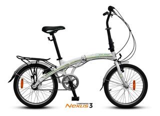 Bicicleta Plegable Aurorita Folding Smart R 20 Shimano Nexus