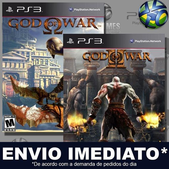 God Of War Collection Combo 2 Jogos Ps3 Psn Promoção Play 3