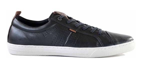 Zapatillas Cuero Hombre Briganti Confort Zapato Hczp14147