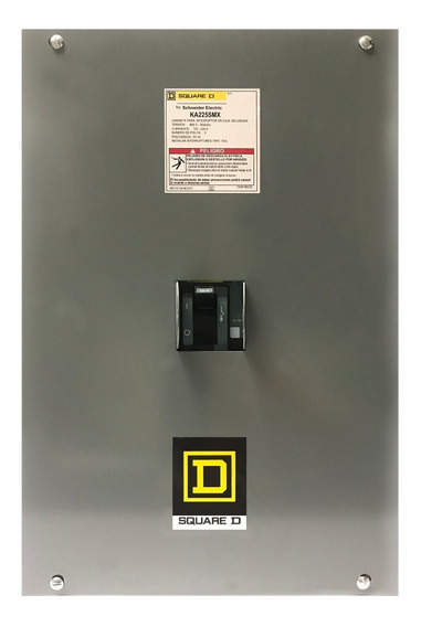 Interruptor Termomagneti 225amp Kal36225 Squared Con Gabinet