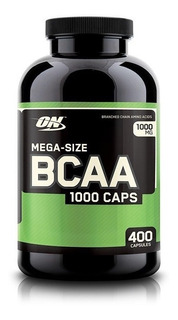 Bcaa Amino Acidos Optimum Nutrition 400 Tabletas