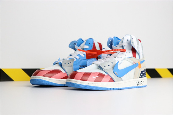 Nike Air Jordan X Parra X Off White (custom)
