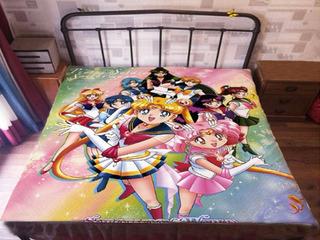Sailor Moon Sabana Chibi Mercury Jupiter Mars 2 Modelos