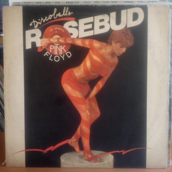 Tributo A Pink Floyd Rosebud Discoballs Tapa Y Vinilo 8.5.p