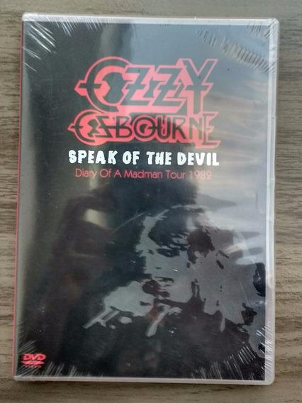Dvd Ozzy Speak Of The Devil (original, Lacrado) Sabbath