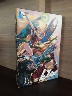 Coleção Hq Liga Da Justiça Da América + Box