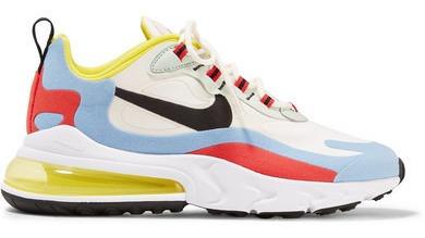 Nike Air Max 270 React Felt And Ripstop Sneakers