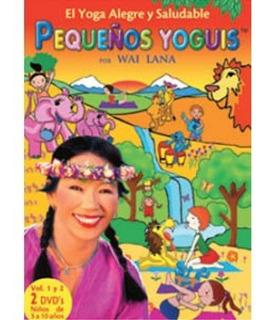 Dvd - Pequeños Yoguis - Yoga Para Niños Wai Lana