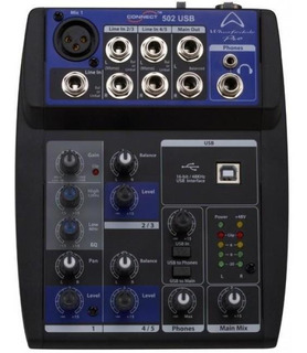 Mixer Wharfedale Connect 502 Usb