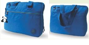 Bolsa Jovem Feminina Nylon Bag X-bags Pa118 Pink Azul Lilas